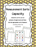 Capacity / Volume: Measurement Sort
