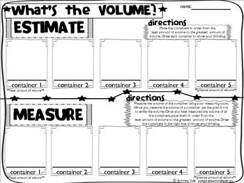 Capacity Volume Poster and Data Sheet