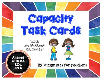 Capacity / Volume Task Cards