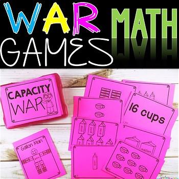 Measurement Capacity Math Game