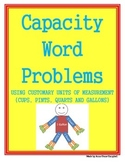 Capacity Word Problems