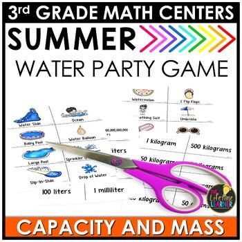Capacity and Mass June Summer Game