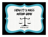 Capacity and Mass Review Game - 3.MD.2