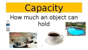 Capacity and Weight PowerPoint