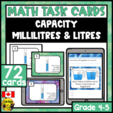 Capacity | millilitres mL and litres L | Paper or Digital
