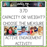 Capacity vs. Weight:  Choosing the Appropriate Measure