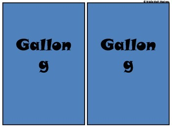 Capacity with Gallon Guy