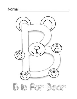 Capital ABC Coloring Pages