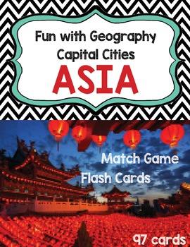 Capital Cities - Asia