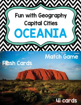 Capital Cities - Australia and Oceania