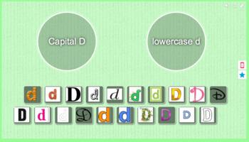 Capital D vs. lowercase d sort