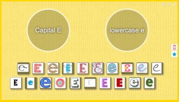 Capital E vs. Lowercase e sort