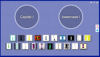 Capital I vs. Lowercase i sort