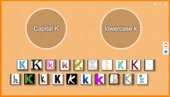 Capital K vs. Lowercase k sort