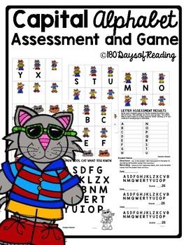 Letter Naming Fluency Game and Letter Recognition Assessment