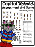 Capital Letter Alphabet Assessment and Game