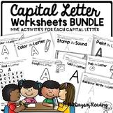 Letter Worksheets and Alphabet Printables