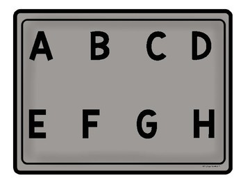 Capital and Lowercase Letter Alphabet Cookie Match