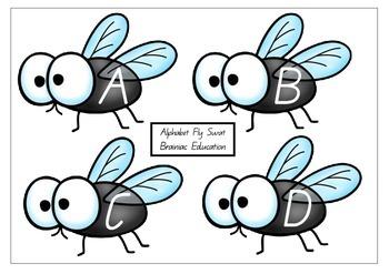 Capital Letter Alphabet Fly Swat