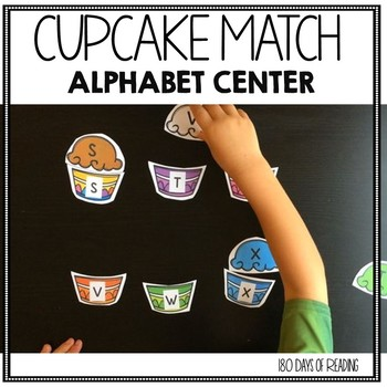 Capital Letter Matching Game for Kindergarten Centers of Morning Work