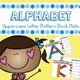 Capital Letter Alphabet Pattern Block Mats