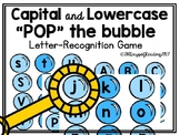 Capital and Lowercase Letter Matching Game for Preschool or Kindergarten