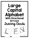 Alphabet Tracing Cards for Letter Formation or Handwriting Practice