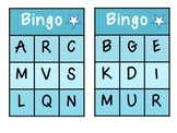 Capital Letter Alphabet BINGO