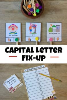 Capital Letter Fix Up