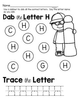 Capital Letter G Alphabet Center Activities