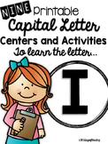 Capital Letter I Alphabet Center Activities