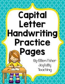 Capital Letter Handwriting Practice