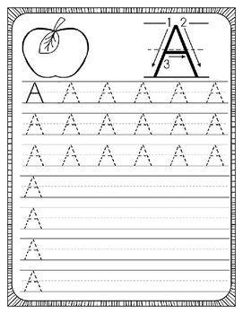 Capital Letter Handwriting Practice