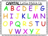 Capital Letter Match Up