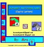 Capital Letter Matching Games