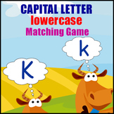 Capital Letter Game - A Memory Game for Matching Uppercase & Lowercase Letters