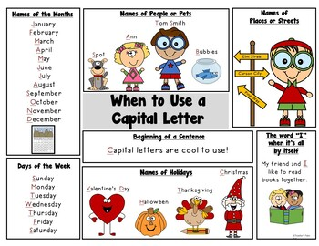Capital Letter Poster