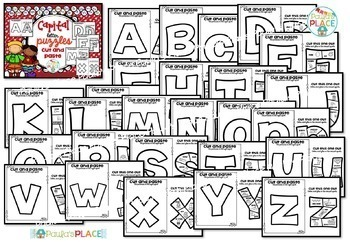 Phonics Centers for Capital Letters