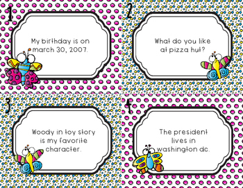 Capital Letter Task Cards - Scoot