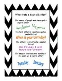 Capital Letter Unit