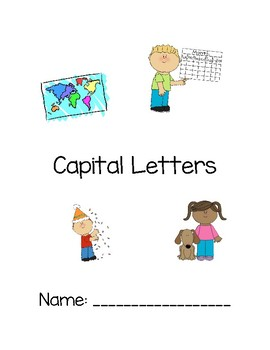 Capital Letter Workbook