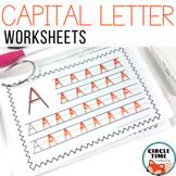 Capital Letter Worksheets