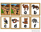 Capital Letter and Lower Case Letter Match Game - Animal Habitat - Desert