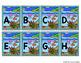 Capital Letter and Lower Case Letter Match Game - Animal Habitat - Ocean