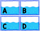 Capital Letter and Lower Case Letter Match Game - Boats