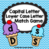 Letter Match Game - Ice Cream