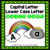 Capital Letter and Lower Case Letter Match Game - St Patri