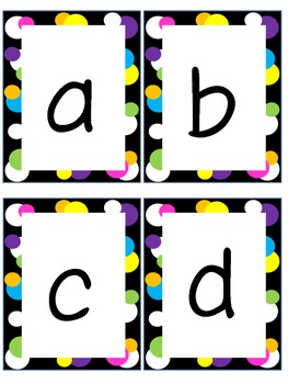 Lower Case Flash Cards Grude Interpretomics Co