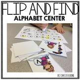 Capital Letter Alphabet Review Game for Winter