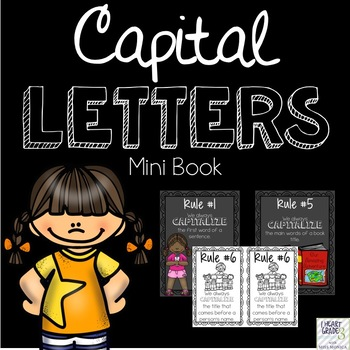 Capital Letters Mini Book